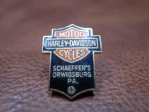 VTG Harley-Davidson バー&シールド ピンバッチ⑩