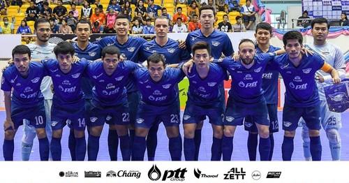 タイフットサルリーグ チョンブリブルーウェーブ 2019/2020 ホームユニフォーム