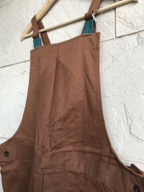 Deadstock Old British prison brown dungarees