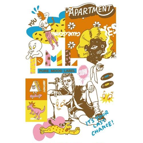 APARTMENT × Toyameg POSTER