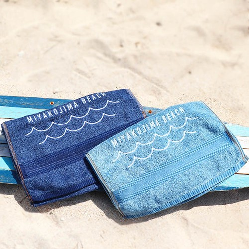 MIYAKOJIMA BEACH TOWEL  M