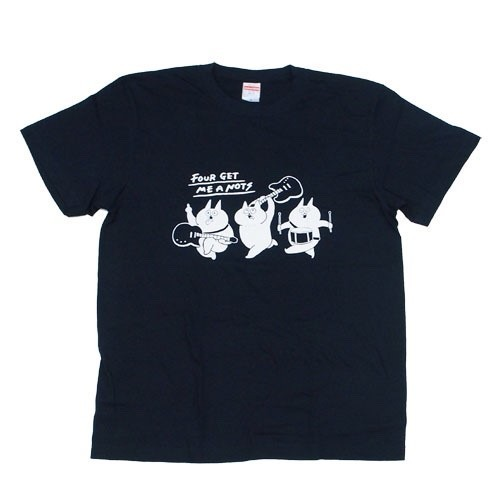 """Crazy cats"" T-shirt Dark Navy"