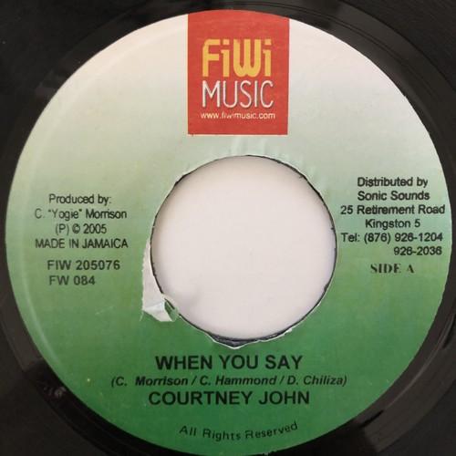 Courtney John - When You Say【7-20615】