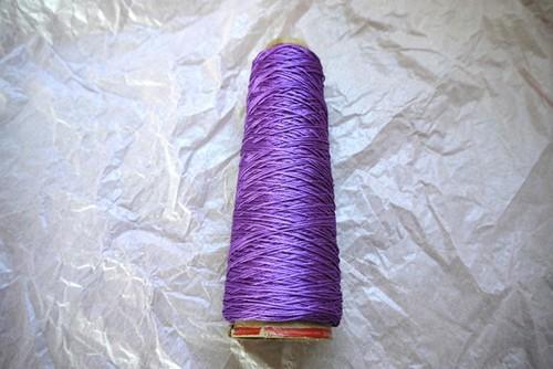 シルクウオッシャブル 京紫色