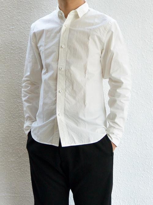 【ラスト1点】weac.(ウィーク)KURUMICHAN SHIRTS クルミちゃんシャツ WHITE