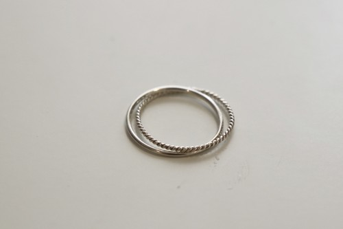 twine -Silver- / Ring