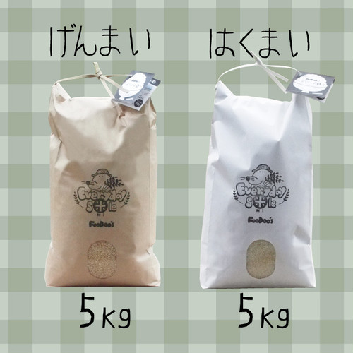 【2019年収穫】白米or玄米《5㎏》FooDoo'sのお米