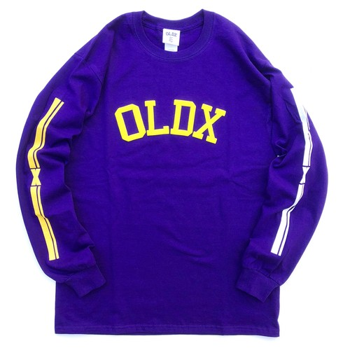 College logo Long sleeve T-shirts PURPLE