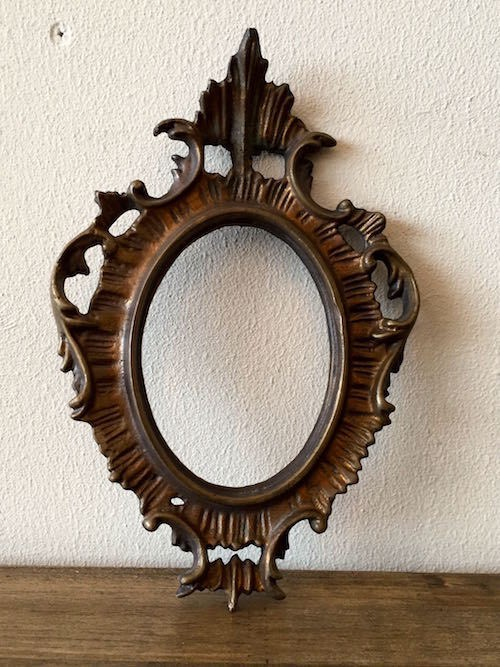 Antique Iron Frame #2