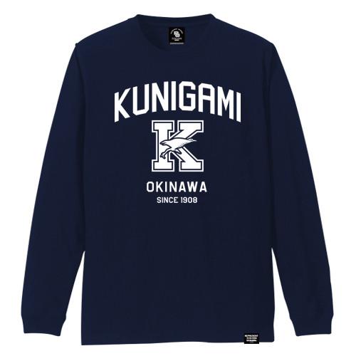 KUNIGAMI VILLAGE LONG SLEEVE TEE