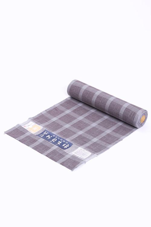 きもの / 片貝木綿 / 大格子 / Gray(With tailoring)