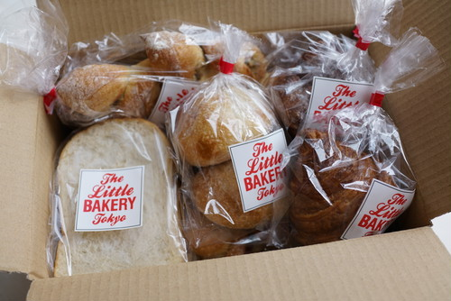 """The Little BAKERY Tokyo """"DAY OLD BREAD"""" 冷凍詰め合わせ"""