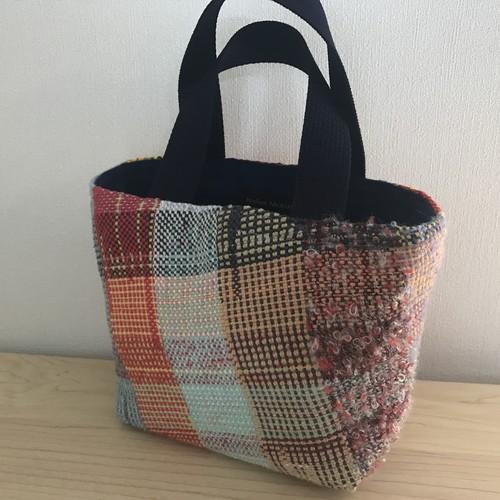 さをり織りミニバッグ