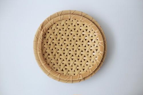 松田浩樹 麻の葉盛り皿  (小)