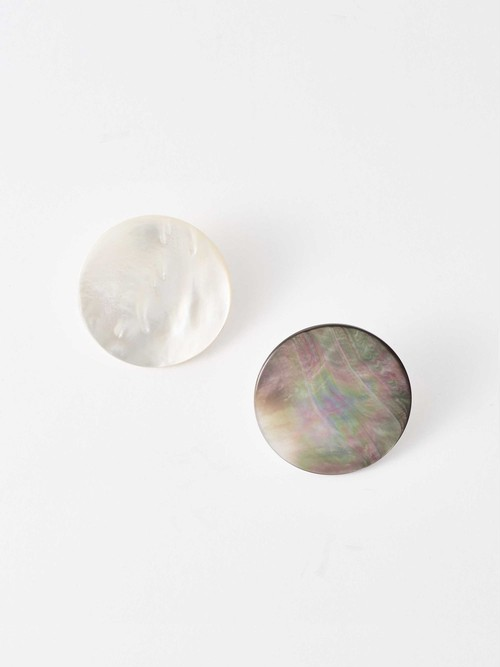 【SASAI】Pearl Clip Earrings