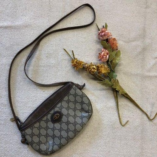 70s 80s GUCCI accessory collection アクセコ ショルダーバッグ ポーチ 中古 USED ヴィンテージバッグ
