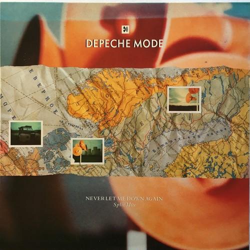 【12inch・英盤】Depeche Mode / Never Let Me Down Again (Split Mix)