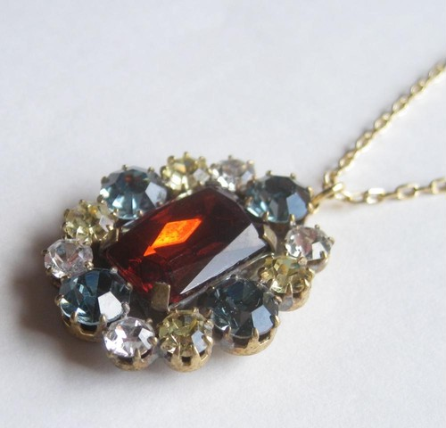 TheDelight antique Czech stone pendant(アンティーク チェコ ストーン ペンダント)⑤