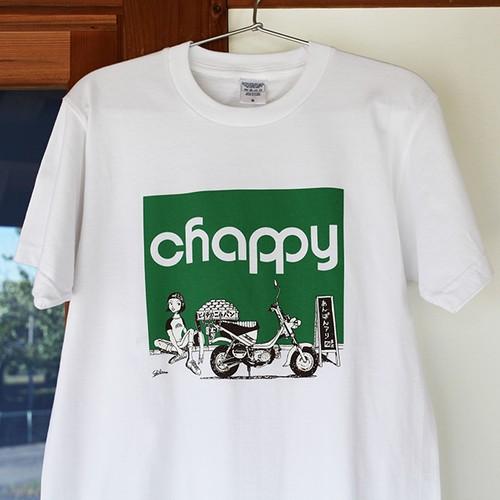 チャッピーT  白×緑