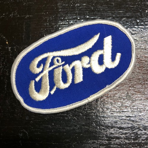 70's Ford Oval Vintage Patch フォード ワッペン ビンテージ HOT ROD ホットロッド 珍ロゴ