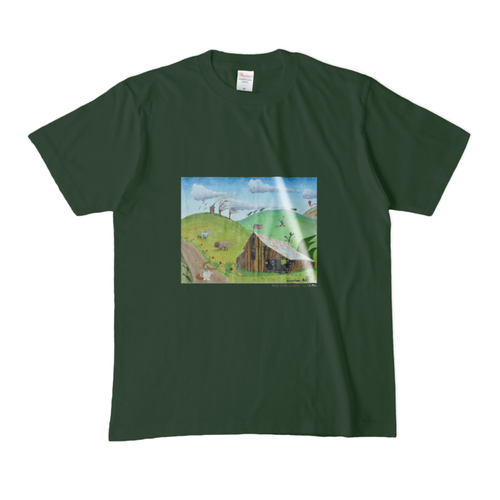 ON A WINDY DAY カラーTシャツ