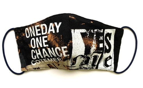 【COTEMER マスク 日本製】ONE DAY ONE CHANCE BAND × BLEACH MASK 0427-157