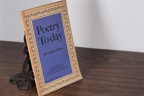 【PV159】Poetry To-day / display book