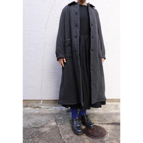 YAECA /ヤエカ Overcoat オーバーコート charcoal レディース