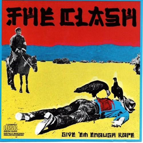 【CD・米盤】The Clash / GIVE 'EM ENOUGH ROPE