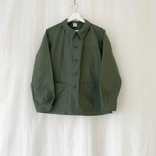 "FRANCE 60s〜vintage""FRENCH ARMY""cotton work jacket-Manufactured by ST JAMES/SONORCO-DEAD STOCK"