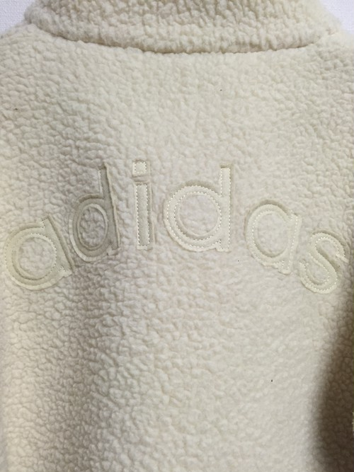 used adidas fleece jacket