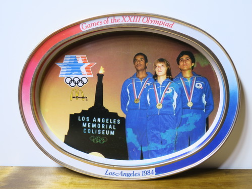 LosAngeles1984'S Olympicトレー ロス五輪×マクドナルド