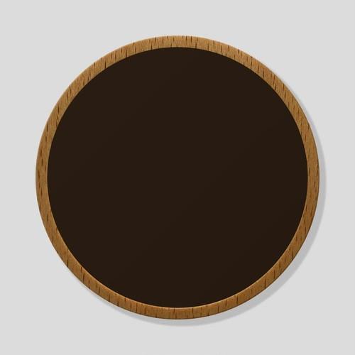 おもいでメダル:ダークブラウン/ブナ(ケースなし)