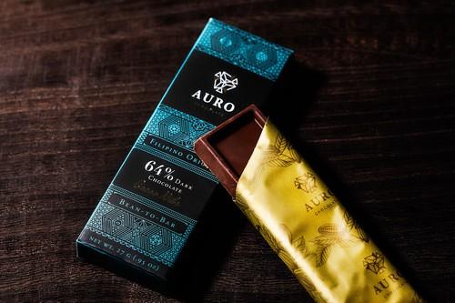 64% Dark Chocolate (w/ Nibs) (27g Bar)
