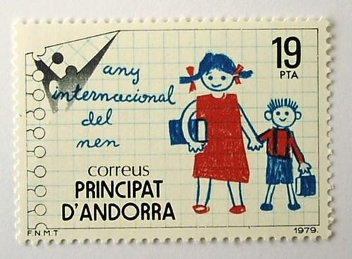 国際児童年・ルーズリーフ / アンドラ 1979