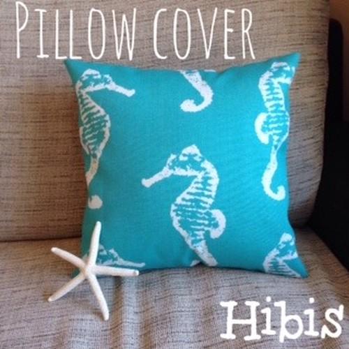 pillow cover (seahorse)
