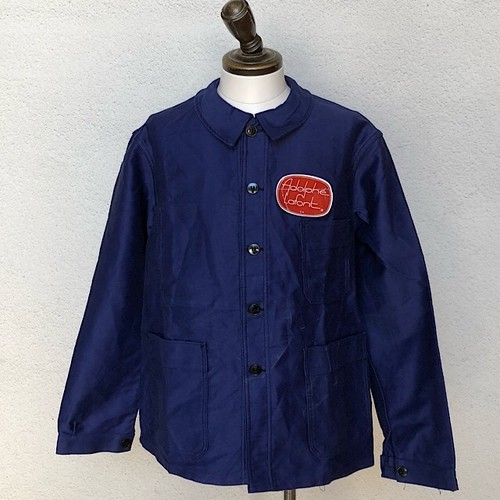 1960s Dead  Stock French Work Jacket Adolphe Lafort