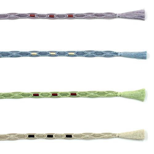 《4色》三つ編み【夏】
