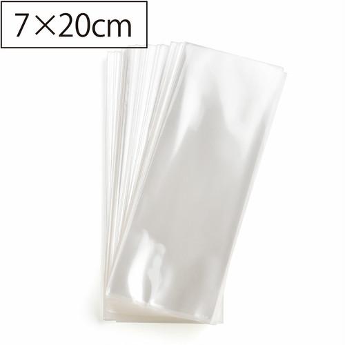 日本製 OPP袋  縦長ロング台紙用 シールなし ラッピング用透明袋  7㎝×20㎝ 150枚 A047