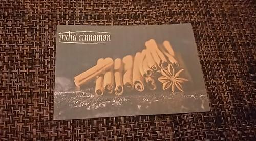 india cinnamon ポストカード