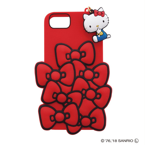 SANRIO/SILICONE RIBBON iPhone CASE