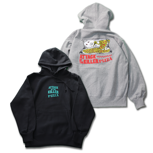 ATTACK OF THE KILLER PIZZA Pullover Hoodie