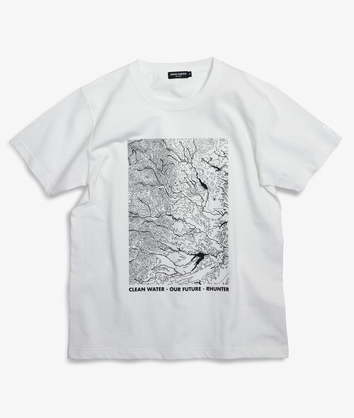 LOCAL RIVER TEE WHITE