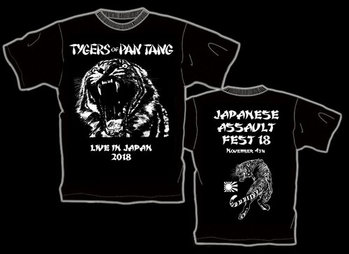 TYGERS OF PAN TANG 来日記念Tシャツ