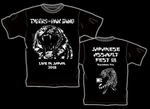 TYGERS OF PAN TANG 来日記念Tシャツ