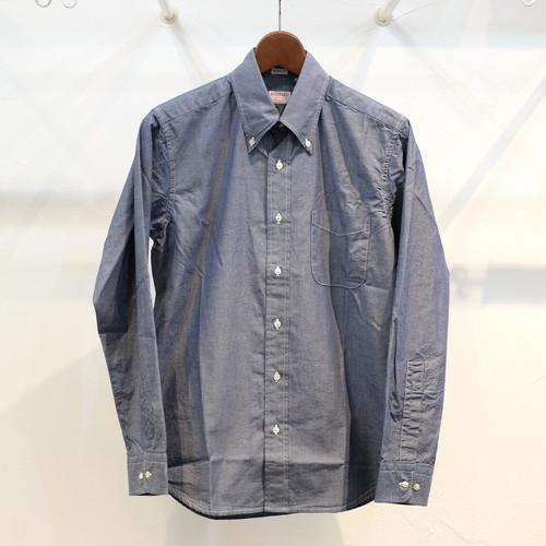Workers(ワーカーズ) ライトボタンダウンシャツ ドレスシャンブレー