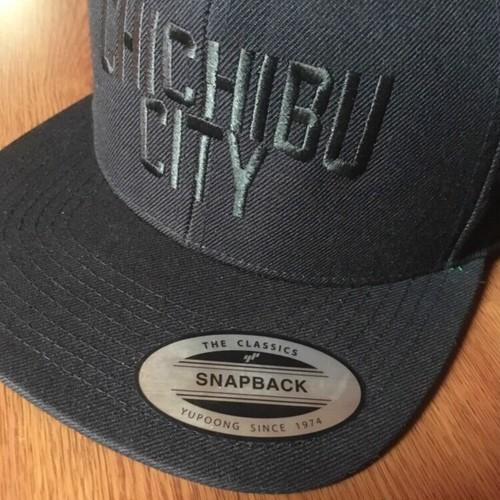 CHICHIBU CITY  CAP  BK×BK