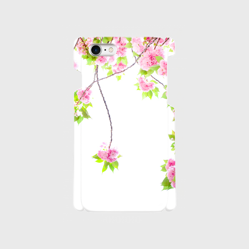 Sighing cherry blossoms 八重桜 スマートフォンケース