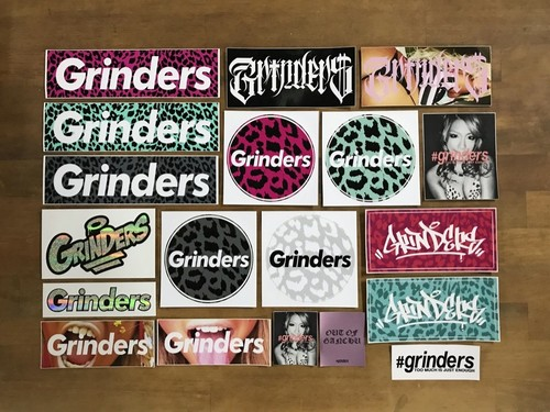 GRINDERS 19 Sticker MEGA Pack