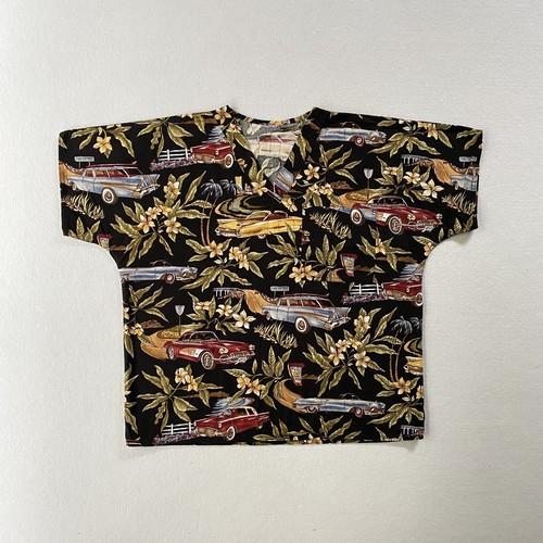 classic car textile Dr.shirt (V5089A)